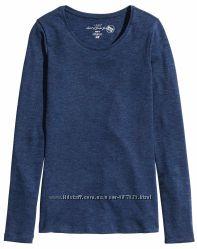 Женский реглан H&M Органический хлопок Синий Разные размеры