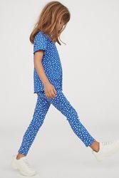 Комплект H&M футболка и лосины Размеры на76-10 лет