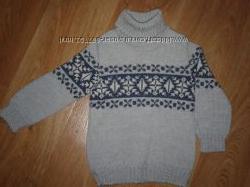 Шерстяной свитер на 1-3 года и майка Глория Джинс в подарок