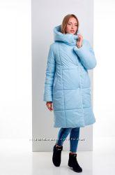 Женское зимнее пальто одеяло с капюшоном