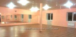 Почасовая сдача в аренду зала для фитнеса и танцев 170 кв. м.