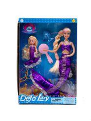 Кукла DEFA 8302 русалка с дочкой