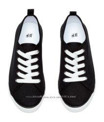 летние легкие кроссовки, кеды H&M