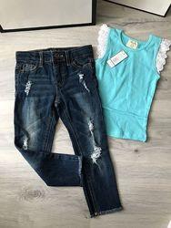 Детские джинсы фирмовые на 2-3 года
