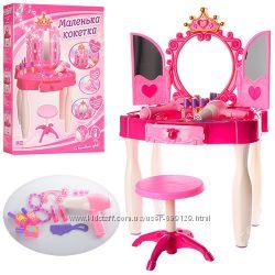 Детское Трюмо Маленькая кокетка со стульчиком и аксессуарами, звуковые и