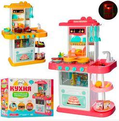 Детская большая кухня с водой,  38 предметов 889-153