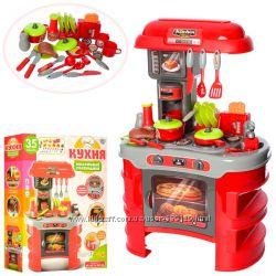 Детская кухня 008-908A звук, свет, посуда, тостер
