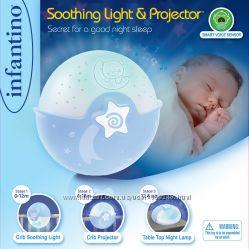 Ночники, светильники, музыкальные мобили для новорожденных INFANTINO