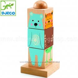 DJECO Деревянные кубики Twistizz