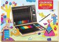 Набор для рисования (5+) 772 грн В наборе: 16 карандашей, 12 фломастеров, 12 цветов акварели, кисточка, точилка, ластик