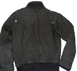 Оригинальная холщовая куртка H&M на мальчика рост 152