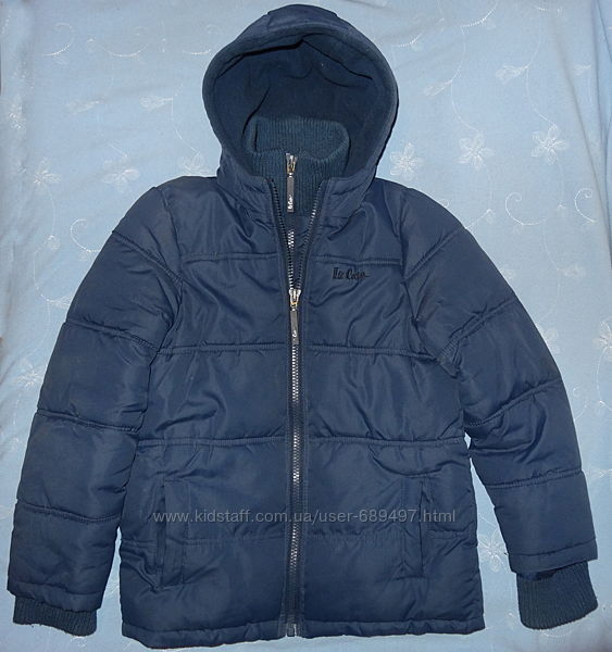 Зимняя куртка на мальчика Lee Cooper 9-10 лет