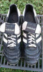 бутцы кожа , Adidas оригинал Германия  стелька 24. 5 см