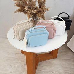 Квадратная сумка женская через плечо. Женская сумочка из эко кожи. Девид Дж