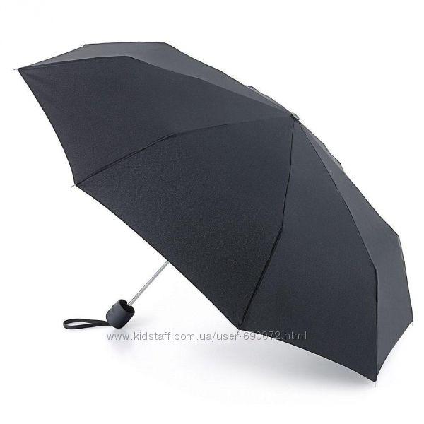Мужской зонт Fulton Stowaway-23 - G560 - Black Черный