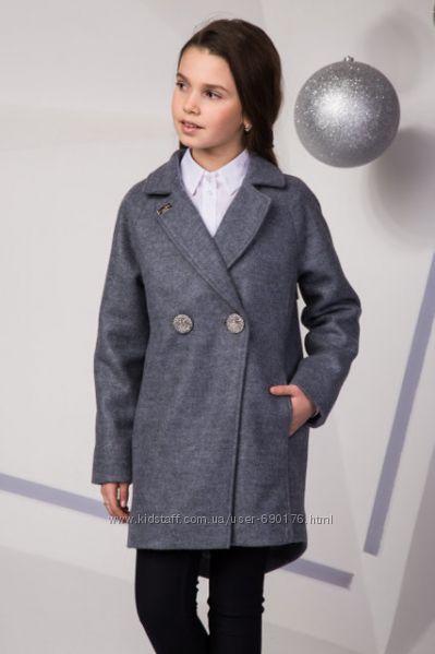 Пальто для девочек осень-весна разные цвета и модели