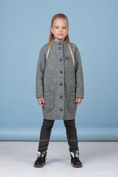 Пальто кашемировое для девочек весна-осень разные модели