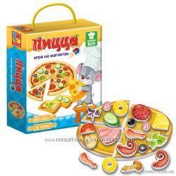 Игра на магнитах Торт, Пицца Vladi Toys Roter Kafer