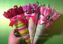 Букеты из конфет для милых, любимых и дорогих