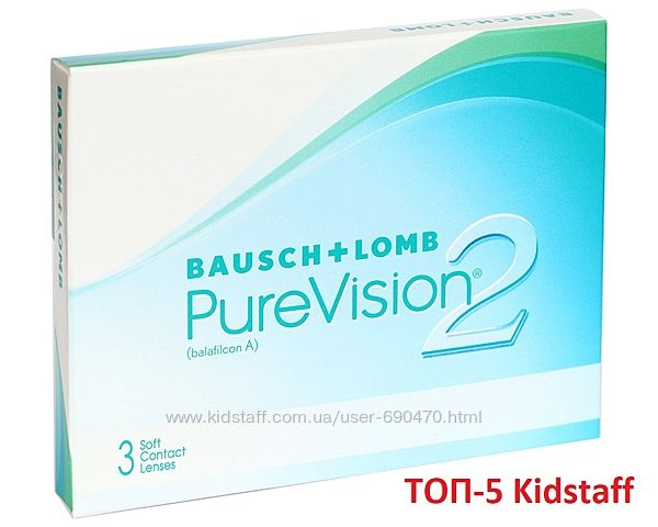 Акция на контактные линзы Purevision 2 от Bausch&Lomb