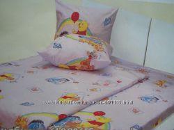 Комплект постельного белья в кроватку для новорожденного ТМ Ярослав