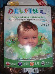 круг надувной Дельфин Польша для грудничка, новорожденного ребенка до года