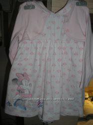 Платье с бодиком для принцессы Дисней минни маус Disney 9-18 мес