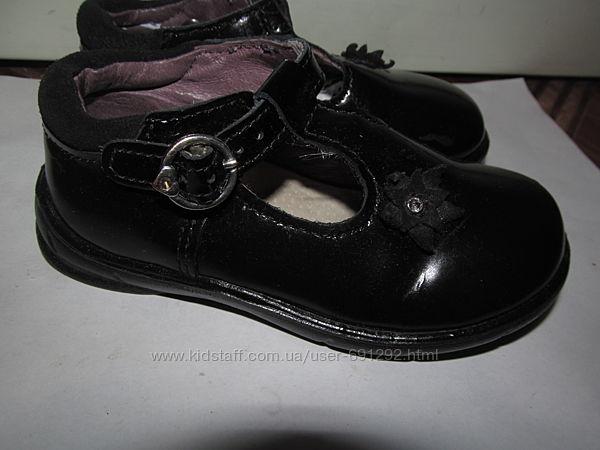 Брендовые полностью кожаные туфли Pepino Ricosta ор. с Англии р.23, ст.14.5