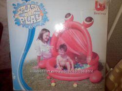 Бассейн с шариками в комплекте