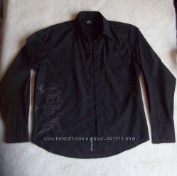 Рубашка принт, ворот 39 см.