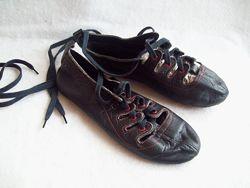Балетки танцевальные шнуровка, стелька 21,5 см.