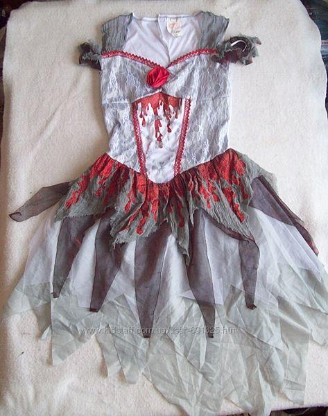 Платье карнавальное зомби, размер XL