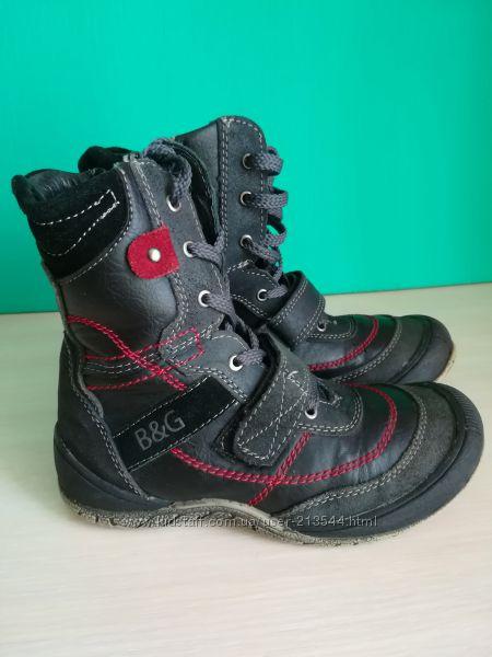 Демисезонные высокие ботинки  B&G  31 размера