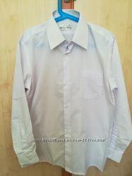 Рубашка белая в школу  на рост 152 см
