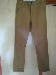 Скинни, коттоновые штаны George на 8-9 лет