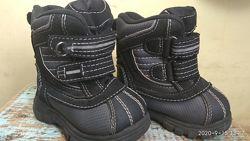 Зимние ботинки 19-20 раз. 12см. стелька