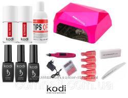 Набор Kodi Professional для покрытия гель-лаком с Лампой 36 ватт и фрезером
