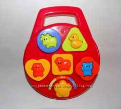 Музыкальная, развивающая игрушка сортер, ELC