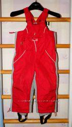 Зимние термо штаны полукомбинезон Decathlon на 3 года р. 94-98см