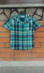 F&F Рубашка короткий рукав 6-7 лет