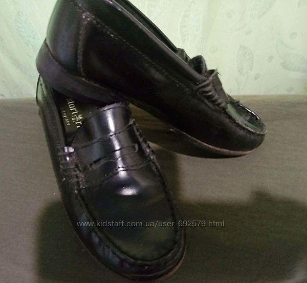 Кожаные туфли на мальчика размер 29