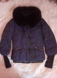 Фирменная куртрчка Baessge p. S. с натуральной опушкой  в идеале