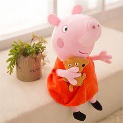 Мягкая игрушка Peppa Pig Пеппа с игрушкой