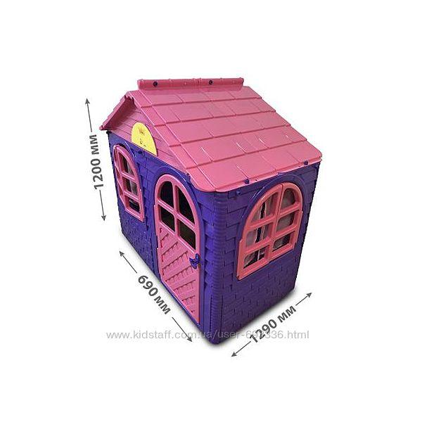 DOLONI-TOYS Будинок з шторками