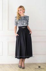 Коктейльное авторское платье