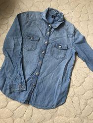 Джинсовая рубашка Gap