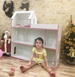 Кукольный домик с террасой- домик для Барби