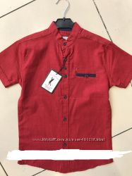 Рубашки для мальчиков с коротким рукавом Cool Finish, рам 9-15лет