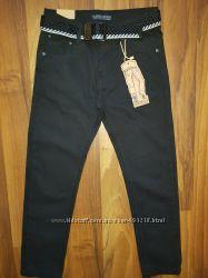 Котоновые брюки для мальчиков подростков, школа TAURUS 134-176