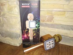 Караоке микрофон WS-1818 золотой, черный